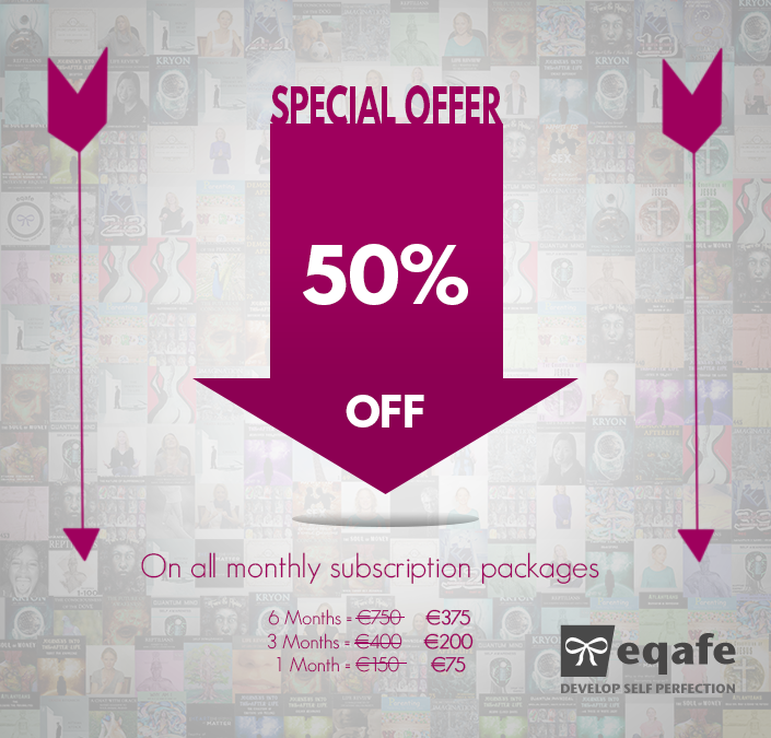 Special Fifty Percent off Eqafe Subscription
