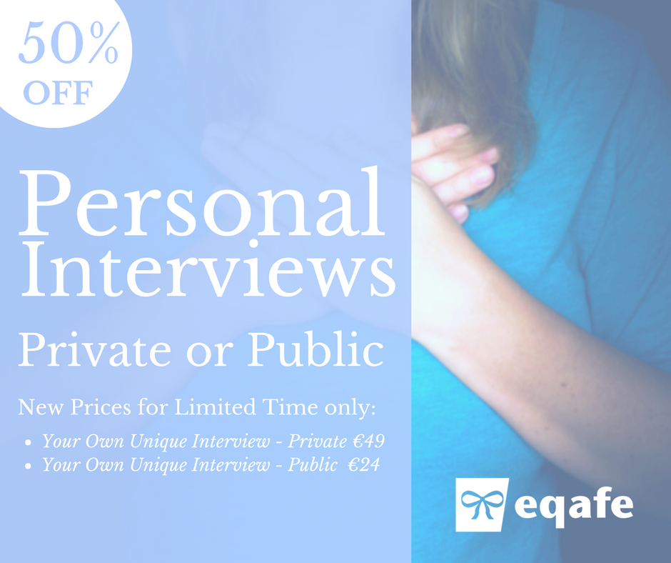 Special Fifty Percent off Public and Private Interviews