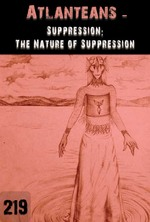 Feature thumb suppression the nature of suppression atlanteans part 219