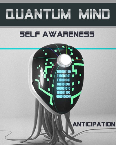 Full anticipation quantum mind self awareness