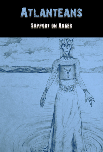 Full support on anger by the atlanteans