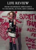 Feature thumb from deliberate arrogance to decision action and change life review