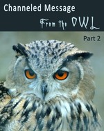 Feature thumb channeled message from the owl part 2