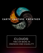 Feature thumb clouds two or more in oneness and equality earth nature and weather
