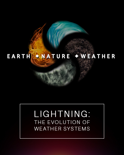 Full lightning the evolution of weather systems earth nature weather