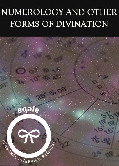 Full numerology and other forms of divination interview request